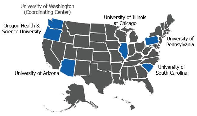 Map of HBRN in Arizona